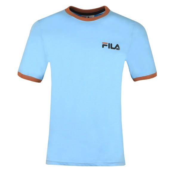 Fila Mens Blue Small Logo Tee main image
