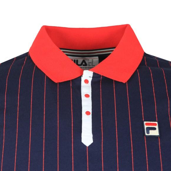 Fila Mens Multicoloured BB1 Striped Polo Shirt