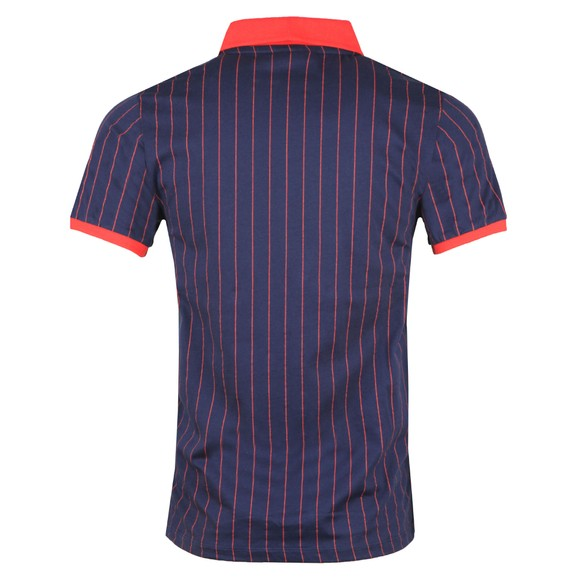Fila Mens Multicoloured BB1 Striped Polo Shirt main image