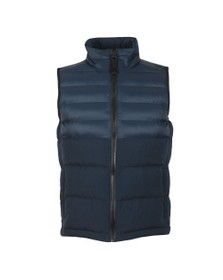 BOSS Mens Blue Odoter Gilet