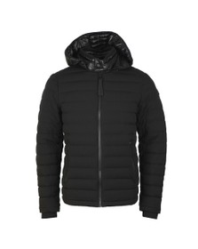 Moose Knuckles Mens Black Black Rock Jacket