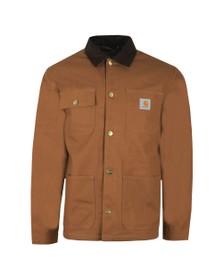Carhartt WIP Mens Brown Michigan Chore Coat