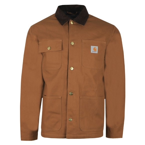 Carhartt WIP Mens Brown Michigan Chore Coat main image