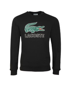 Lacoste Mens Black SH6382 Sweat