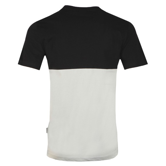 Nicce Mens Black Panel T-Shirt main image