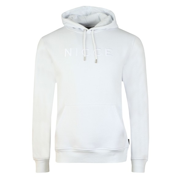 Nicce Mens White Mercury Hoody main image