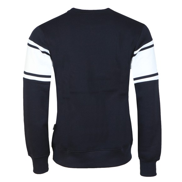 Nicce Mens Blue Panel Sweatshirt main image