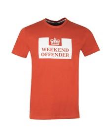 Weekend Offender Mens Brown Weekend Offender Prison T-Shirt
