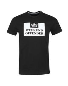 Weekend Offender Mens Black Weekend Offender Prison T-Shirt