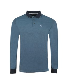 Weekend Offender Mens Blue Herrera Polo Shirt