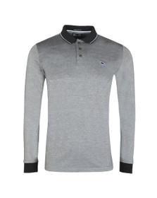 Weekend Offender Mens Black Herrera Polo Shirt