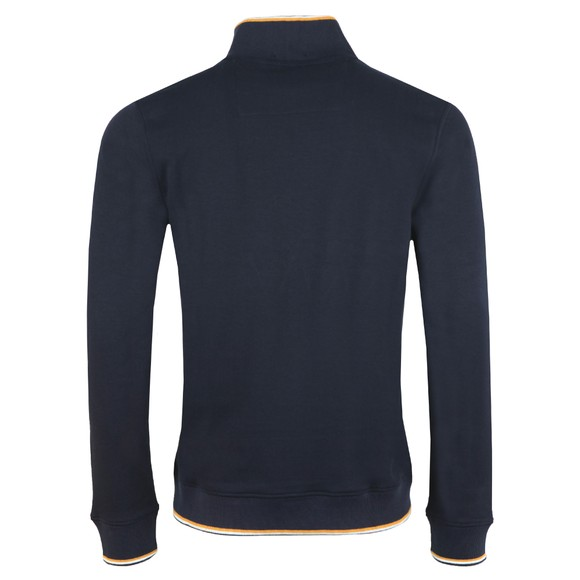 Weekend Offender Mens Blue Zocalo Half Zip Sweat main image