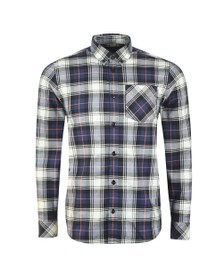 Carhartt WIP Mens Blue Bostwick Shirt
