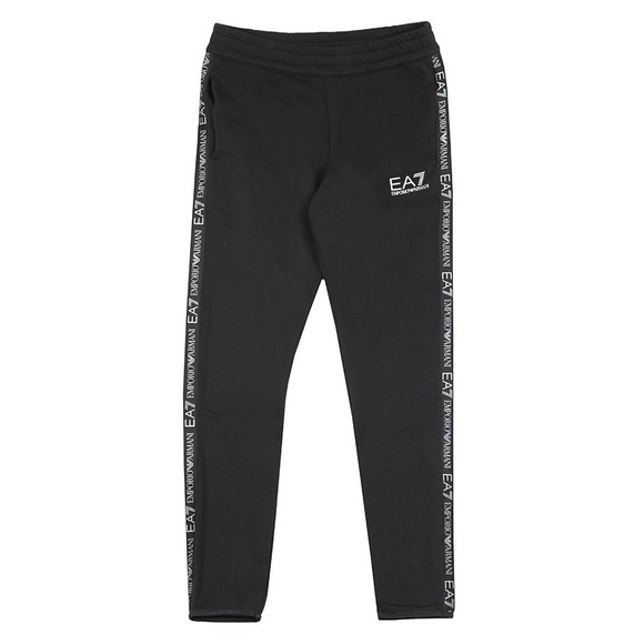 EA7 Emporio Armani Mens Black Taped Jogger main image