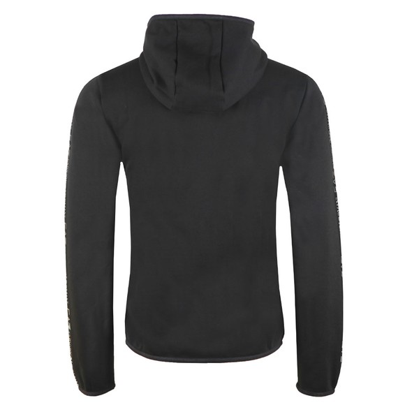 EA7 Emporio Armani Mens Black Full Zip Hooded Sweat main image