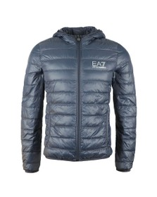 EA7 Emporio Armani Mens Blue Train Core ID Light Down Jacket