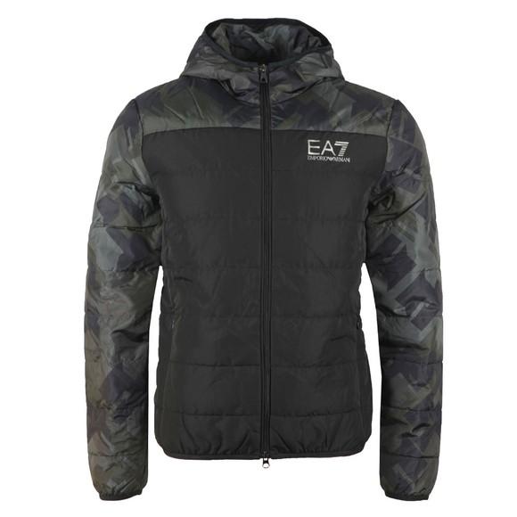 EA7 Emporio Armani Mens Black Down Jacket main image