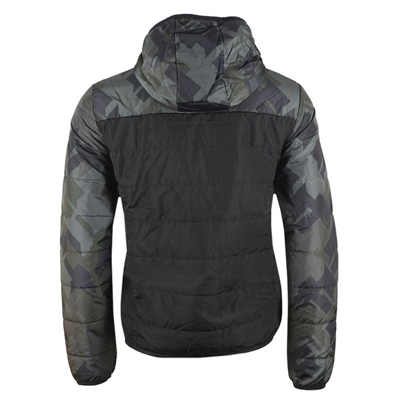 EA7 Emporio Armani Mens Black Down Jacket main image
