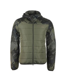 EA7 Emporio Armani Mens Green Down Jacket