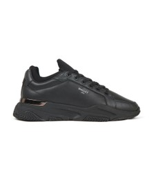 Mallet Mens Black Kingsland Trainer