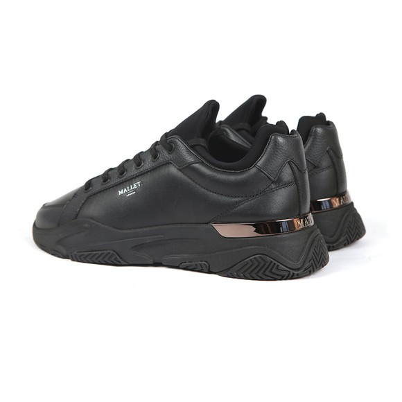 Mallet Mens Black Kingsland Trainer main image