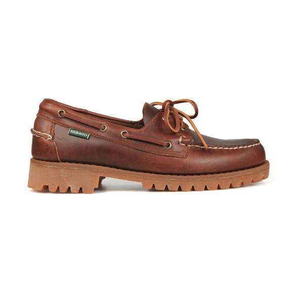 Sebago Mens Brown Ranger Waxy Boat Shoe main image