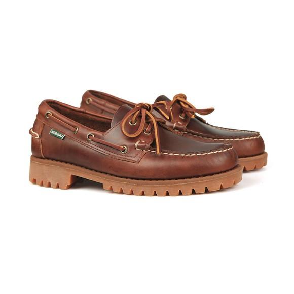 Sebago Mens Brown Ranger Waxy Boat Shoe