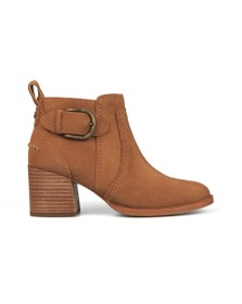 Ugg Womens Brown Leahy Boot