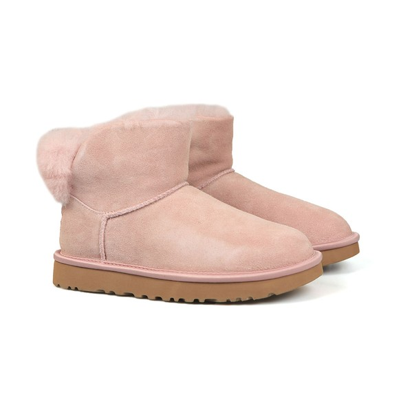 Ugg Womens Pink Classic Bling Mini Boot