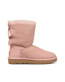 Ugg Womens Pink Bailey Bow II Boot