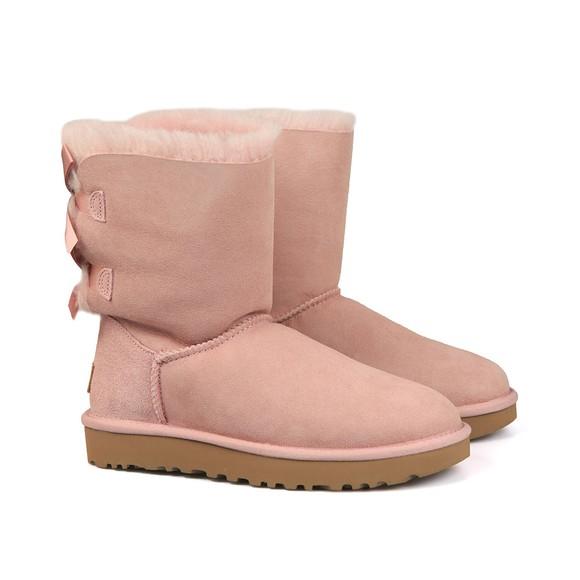 Ugg Womens Pink Bailey Bow II Boot main image