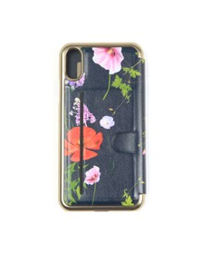 Ted Baker Womens Blue Cheryin Hedgerow Iphone X Book Case