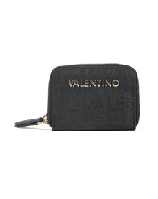 Valentino by Mario Womens Black Winter Dory Wallet
