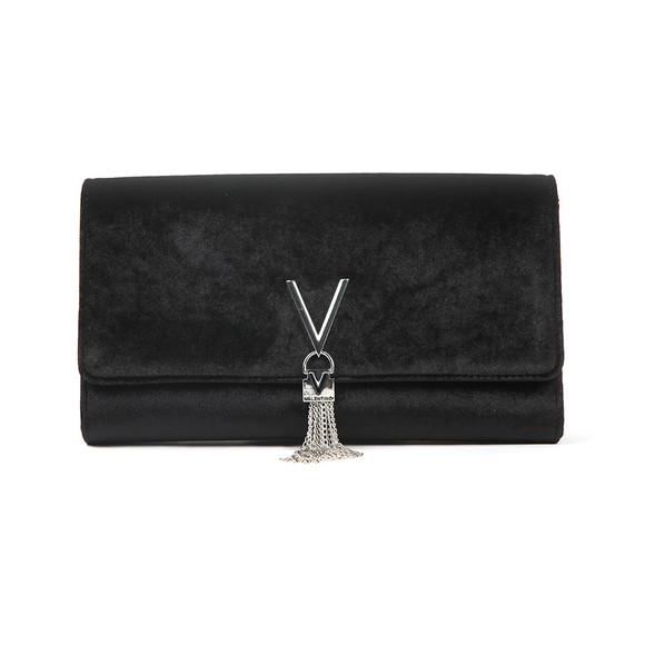 Valentino by Mario Womens Black Marilyn Clutch main image