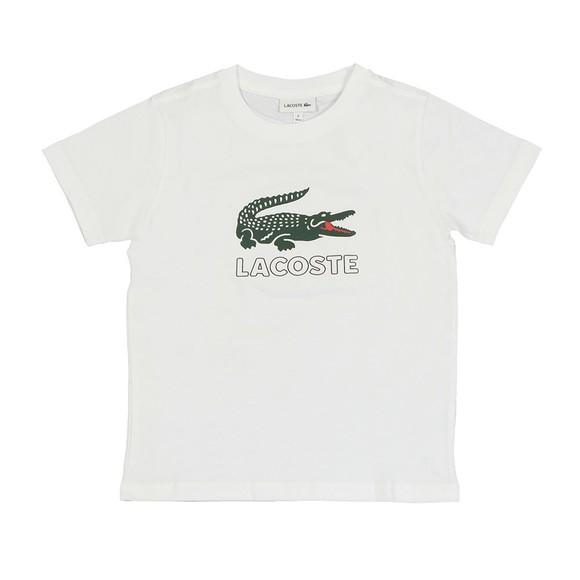 Lacoste Boys White Boys TJ7624 Logo T Shirt
