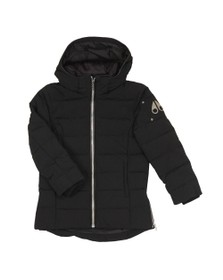 Moose Knuckles Boys Black Unisex 3Q Puffer Jacket