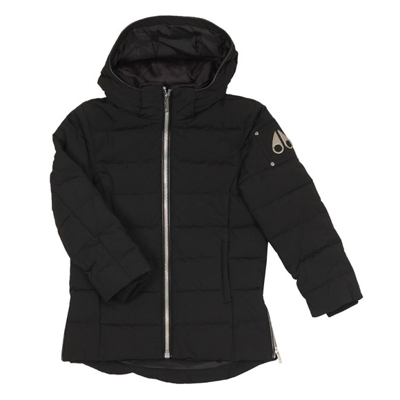 Moose Knuckles Boys Black Unisex 3Q Puffer Jacket