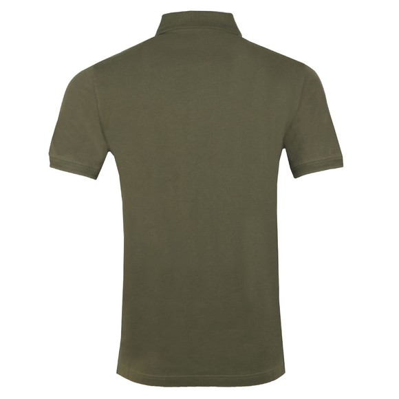 Belstaff Mens Green Chest Badge Polo Shirt main image