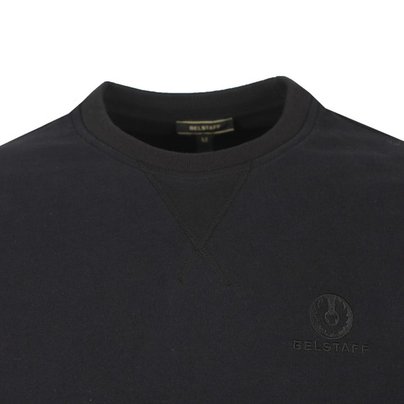 Belstaff Mens Black Chest Logo Sweatshirt main image