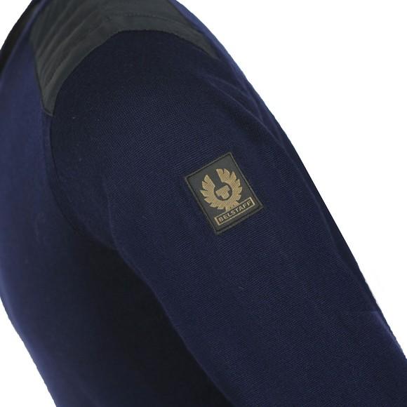 Belstaff Mens Blue Kerrigan Jumper main image