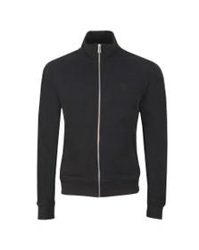 Belstaff Mens Black Zip Through Sweatshirt