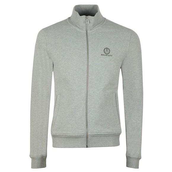 Belstaff Mens Grey Zip Through Sweatshirt main image