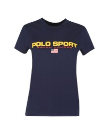 Polo Ralph Lauren Sport Womens Blue Polo Sport T-Shirt