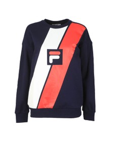 Fila Womens Multicoloured Agathe Logo Sweat