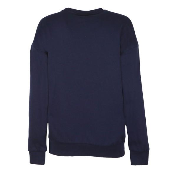 Fila Womens Blue Agathe Logo Sweatshirt main image