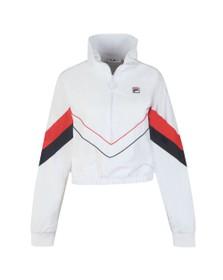 Fila Womens White Chiaki Woven Track Jacket