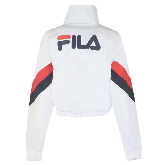 Fila Womens White Chiaki Woven Track Jacket main image