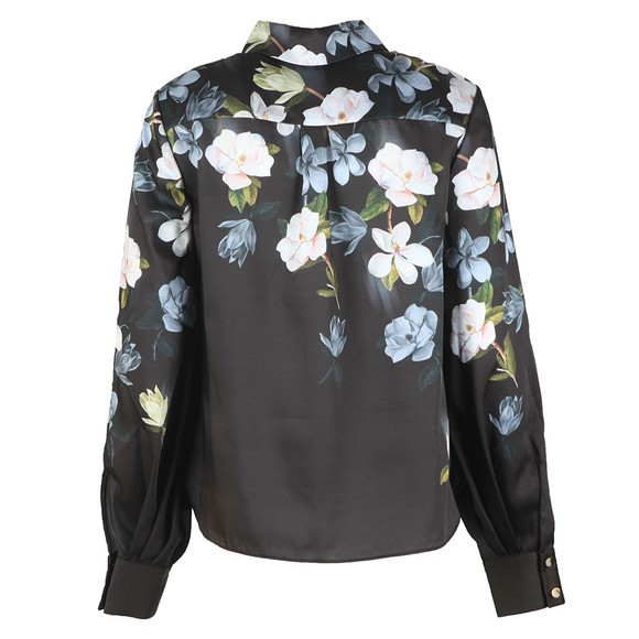 Ted Baker Womens Black Priyya Opal Printed Button Up Blouse main image