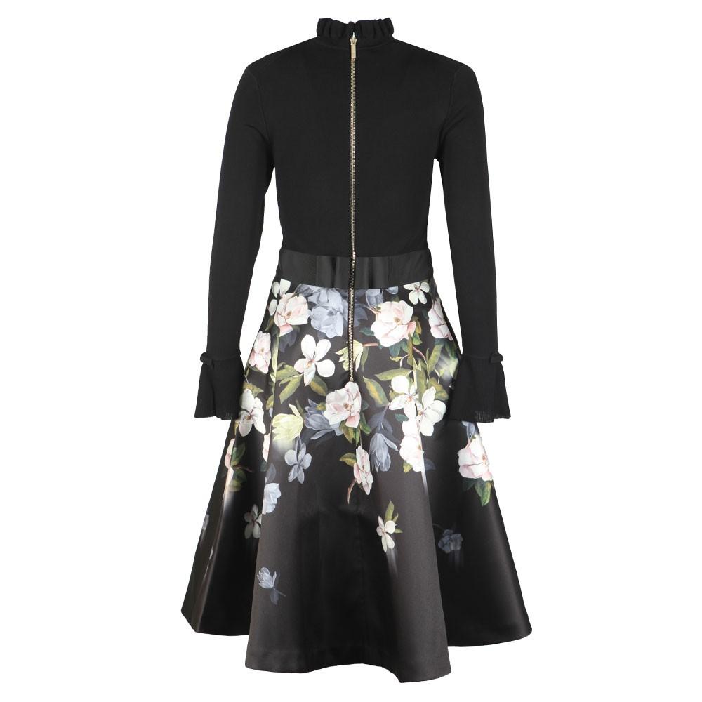 Nerida Opal Printed Full Skater Dress main image