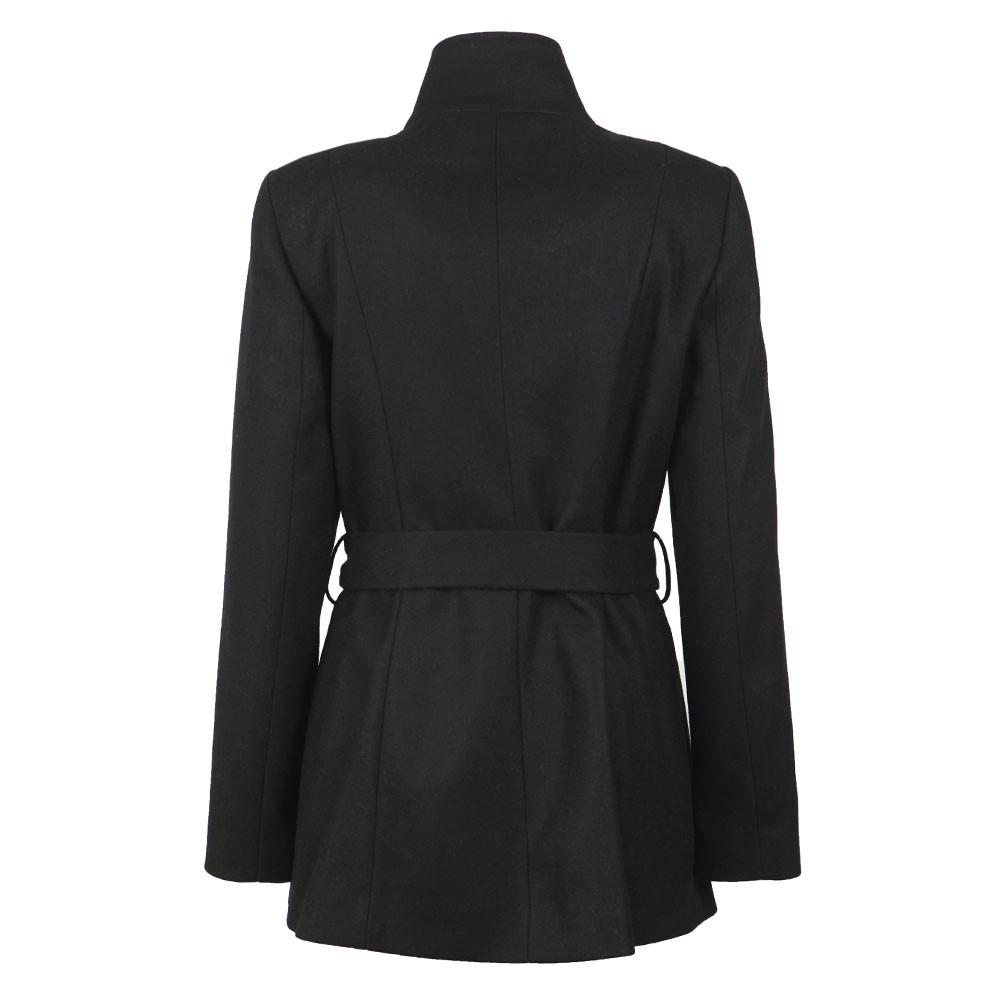 Drytaa Short Belted Wrap Coat main image